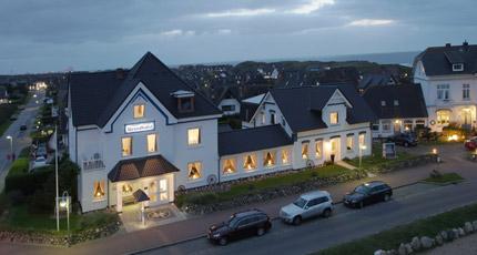 lage und anfahrt f r das strand hotel sylt in wenningstedt auf der insel sylt. Black Bedroom Furniture Sets. Home Design Ideas